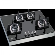 Glen Built in Hob 1074 SQF IN with SS frame Stand Gas Cooktop