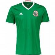 Jersey Adidas De La Seleccion De Mexico Version Profesional Adizero Verde