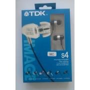 TDK S4 слушалки Черни