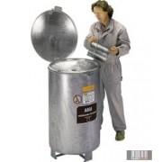 HUL-4953 200 literes fém gyűjtőedény