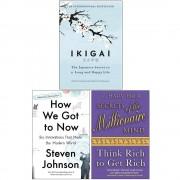 Francesc Miralles Héctor García Ikigai The Japanese , How We Got to, Secrets of the Millionaire 3 Books Collection