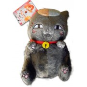 Banpresto Natsume's Book of Friends Natsume Yuujin Chou Nyanko Sensei cat BLACK Sitting 12 inches