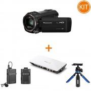 Kit Streaming Camera Video + Placa de Captura + Microfon