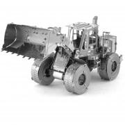 DIY Jigsaw Puzzle 3D Metal Cargador Montado Modelo De Juguetes - Plata