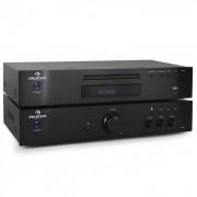 Auna Set amplificador estéreo hifi y reproductor CD 600 w