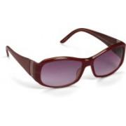 Celine Dion Oval Sunglasses(Pink)