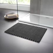 pad home design Gevlochten mat, 132 x 72 cm - zwart/grijs