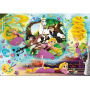 Puzzle Clementoni - Disney Tangled, 104 piese (65236)