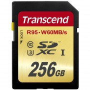 Transcend 256 GB High Speed 10 UHS-3 Flash Memory Card (TS256GSDU3)