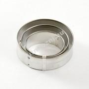 Linzer kiszúró kerek kiszúró 3 db 4-5-6 cm