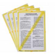 Instrukcje BHP dla wulkanizacji, serwisu ogumienia - 4 tablice