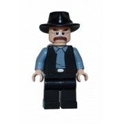 Lego Walter White Gangster (Custom)- Breaking Bad- Heisenberg
