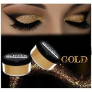 SUPER BRIGHT GOLDEN GLITTER SHIMMER DUST FOR BEAUTY QUEEN PACK OF 12