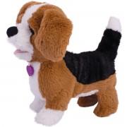 Jucarie interactiva de plus Noriel Pets - Zigo catelusul Beagle