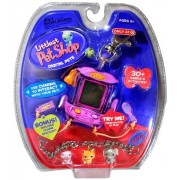Hasbro Year 2006 Littlest Pet Shop Digital Pets Series Virtual Game - Blue BIRD Digital Game with Charms to Interact with Your Pet Food Tray to Feed Your Pet Brush Clip for On-the-Go Fun and 30+ Games and Activities Plus Bonus Exclusive Bracelet with 3 Pe