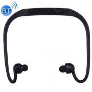 506 Life Waterproof Sweatproof Stereo Wireless Sports Bluetooth Earbud Earphone In-ear Headphone Headset with Micro SD Card Slot for Smart Phones & iPad & Laptop & Notebook & MP3 or Other Bluetooth Audio Devices Maximum SD Card Storage: 8GB(Black)