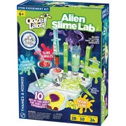 Thames & Kosmos Ooze Labs: Alien Slime Lab Science Kit y configuración de Laboratorio, 10 experimentos con Slime Ganador del Premio Recomendado por la elección de los Padres
