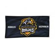 Copenhagen Wolves Team Flag - Svart