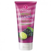Dermacol Aroma Ritual leite corporal antisstress uvas e lima 200 ml