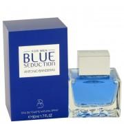 Antonio Banderas Blue Seduction Eau De Toilette Spray 1.7 oz / 50.3 mL Fragrance 462628