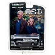 2011 Dodge Charger From The Hit Television Show Csi: Crime Scene Investigation * Gl Hollywood Series 6 * 2013 Greenlight Collectibles Limited Edition 1:64 Scale Die Cast Vehicle