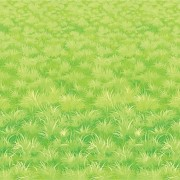 Geen Muurdecoratie met gras print 9 meter
