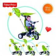 Tricicleta 3 in 1 Charisma Verde Fisher Price