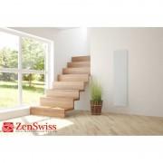 ZenSwiss Niedrigenergie-Infrarotheizungen (Leistung/Grösse: 280W / 30 cm x 120 cm, Farbe: Matt Weiss)