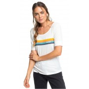 Roxy Tricou pentru femei All Good Baby Snow White ERJZT04648-WBK0 XS