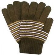Tahiro Multicolour Woollen Full Finger Winter Gloves - Pack Of 1