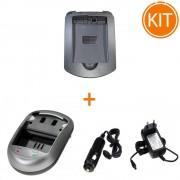 Incarcator Power3000 pentru acumulator Nikon tip EN-EL14 + Bonus adaptor auto
