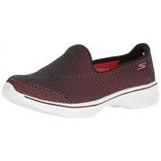 Skechers Performance Women s Go Walk 4 Majestic Walking Shoe Black/Hot Pink 8 B(M) US