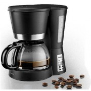 Cafetiera Trisa Aroma Coffee On Time 900W 1.2l Neagra
