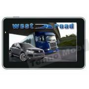 GPS НАВИГАЦИЯ WEST ROAD WR-S7256M HD EU 800 MHZ 256 RAM 8GB ЗА КАМИОН