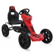 Kart cu pedale Go Kart Extreme Red