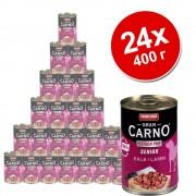 Бонус опаковка Animonda GranCarno Original Senior 24 x 400 г - говеждо и агнешко месо