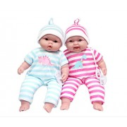 JC Toys Lots to Cuddle Babies Twins Dolls