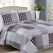 3 részes ágytakaró szett 220x240 cm exkluzív pezsgőszínű indás