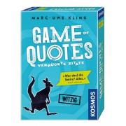 Kosmos Game of Quotes