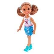 Barbie Chelsea Brunett Docka