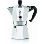 Bialetti Moka Express Stove Top 4 Cups Coffee Maker(Silver)