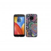 Funda Para Celular Motorola E4 Plus Paisley Colores