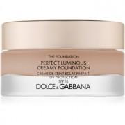 Dolce & Gabbana The Foundation Perfect Luminous Creamy Foundation maquillaje iluminador en crema SPF 15 tono 130 Honey 30 ml