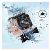EY SJ60 Video Cámara Deportiva Digital Waterproof DVR Cam 4K-Rosa
