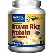 Jarrow Formulas Organic Brown Rice Protein Concentrate Vanilla - 17.8 Oz