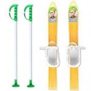 Комплект детски ски 60см. и щеки, MASTER, MASkarC-01-yellow