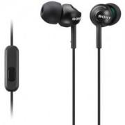 Слушалки Sony Headset MDR-EX110AP black - MDREX110APB.CE7