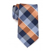 Nautica Amador Plaid Tie ORANGE