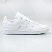 Adidas, Pantofi sport din piele naturala, Alb, 36 2/3
