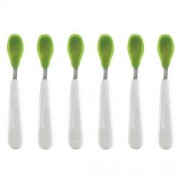 Set de cuillères en silicone – OXO Tot - Vert - Lot de 6